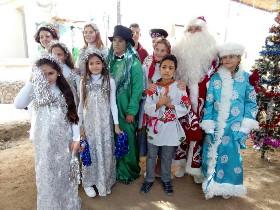 """Новогоднее представление """"4 ключа"""" в Хургаде"""
